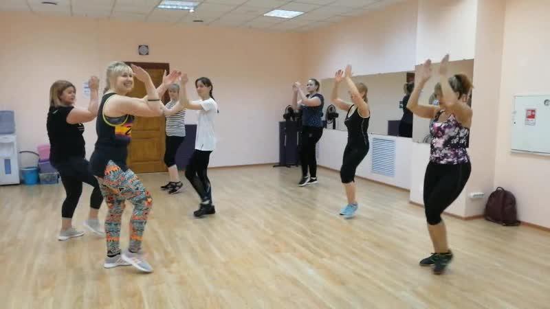 Zumba fitness Smolensk Зумба Смоленск Инструктор Яна Захарова