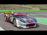 Marc VDS Ford GT GT1 at Spa Francorchamps Pure&ampLoud American V8 sounds!! in 1080pHD