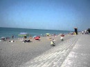 Пляж в разгар сезона в Крыму пос Николаевка