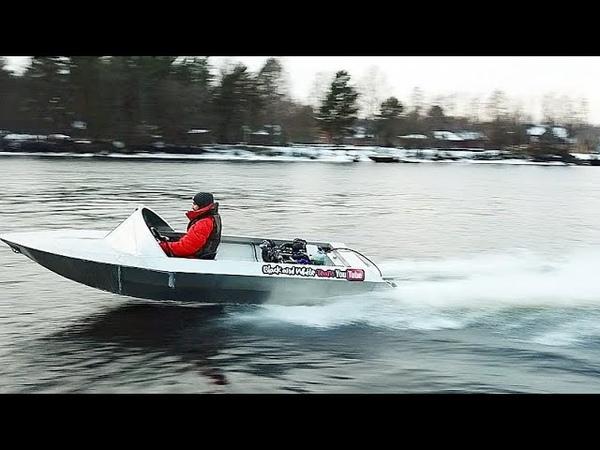 Мы построили лодку - КОТОРАЯ ВАЛИТ НА ВСЕ БАБКИ!