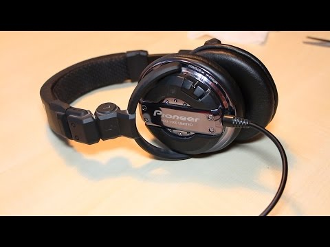 How to Replace Ear Pad and cable - Pioneer HDJ-1000