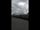 Поезд 285 Мурманск-Новороссийск отправляется со станции Мурманск