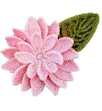 Цветы крючком (7 фото) - картинка