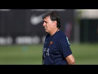 FC Barcelona - Primer entrenament amb tota la plantilla (29/7/13)