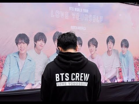 Behind The Scenes of BTSLoveYourselfTour Massive Production Logistic will make you Goosebumps! 😱
