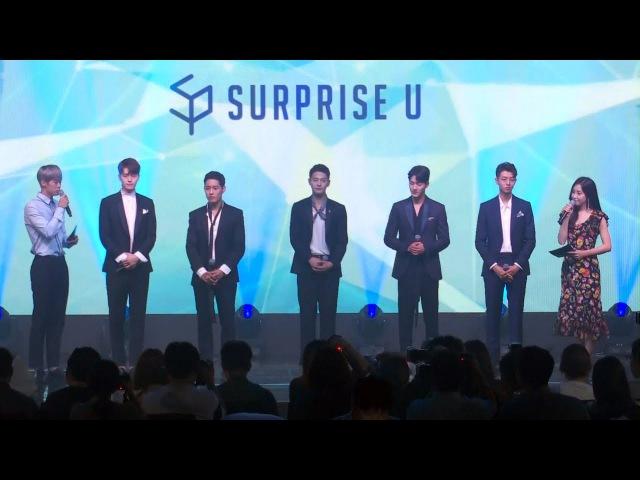 Surprise U(서프라이즈 U) I DO Showcase -Greetings- (김현서, 윤정혁, 은해성, 지건우, 차인하, 아이돌 권
