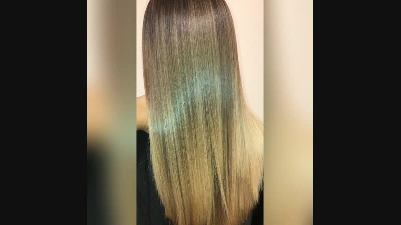 Кератиновое восстановление и выпрямление волос