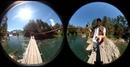 Так выглядит Алтай через объективы сферической камеры. Это исходник, который в будущем превратиться