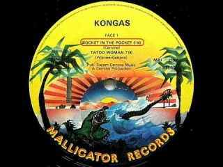 KONGAS - ROCKET IN THE POCKET, 1979