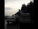 Драка на дороге в Казани