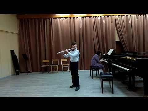 Mozart. Sonate n° 11 (KV331) - Rondo Alla turca (ред. Цыбина)