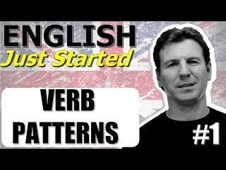 Английский глагол - сочетание с герундием - Verb Patterns 1