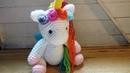 Como tejer Unicornio amigurumi tejido a crochet Paso a Paso