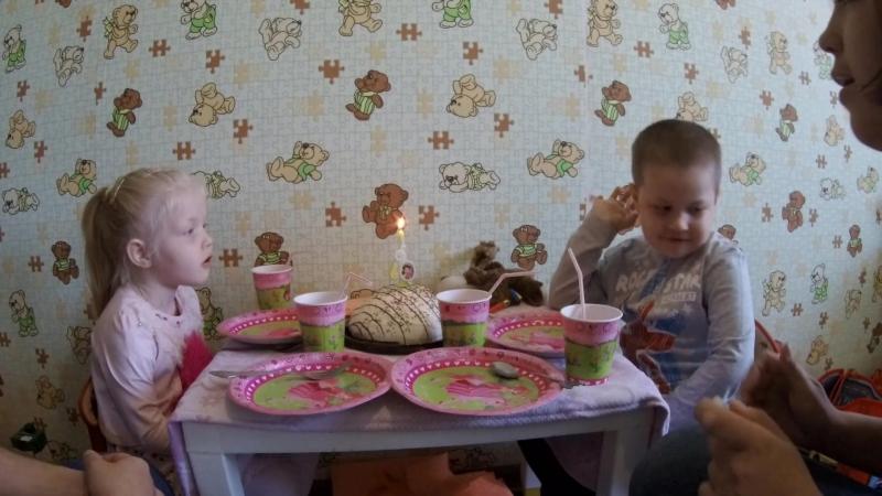 День рождения Леры 4 года