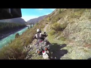 Алтай. Тропа Иня - Тюнгур. Мотопутешествие команды DirtMotoShop.ru (Nature of Altai)