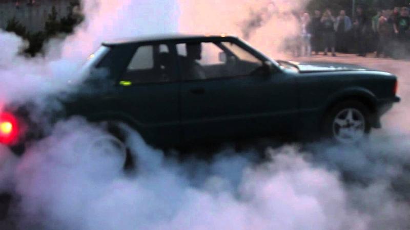Ford Taunus V6 burnout