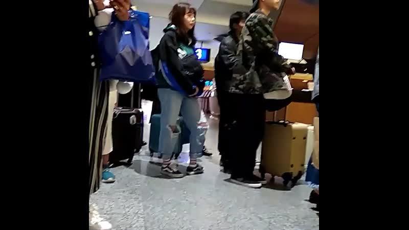 Объявил, построились, поклонились, ушли или японская группа в аэропорту Тайбея