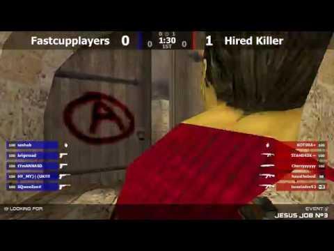 Финал турнира по CS 1.6 [Hired Killer -vs- Fastcupplayers] @ by kn1fe /2map