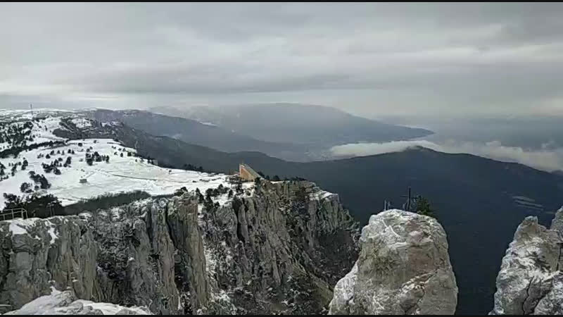 Гора Ай-Петри, виид на Ялту крымтур