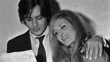 Dalida avec Alain Delon