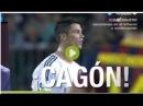 Cristiano Ronaldo llamó cagón al árbitro después que no pitara un penalti
