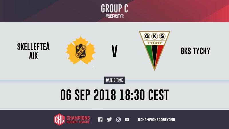 Highlights Skellefteå AIK vs GKS Tychy