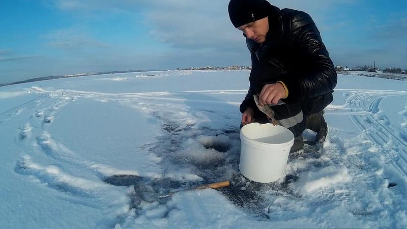 Зимняя рыбалка на Шершнях, проверка боем 26.11.18