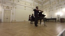 Ilya Gringolts and Peter Laul play Mozart Sonata A dur KV526