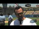 Hank Azaria announces the lineup as Apu, Chief Wiggum and Moe from the Simpsons MLB.com