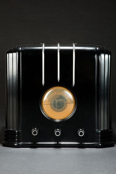 Стиль арт-деко. Подборка фотографий радиоприёмников 1930-40-х годов.