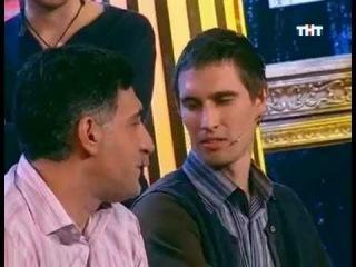 Дуэт Эд и Смирняга и Тигран Кеосаян - очередь в ЖЭК (Убойная лига)