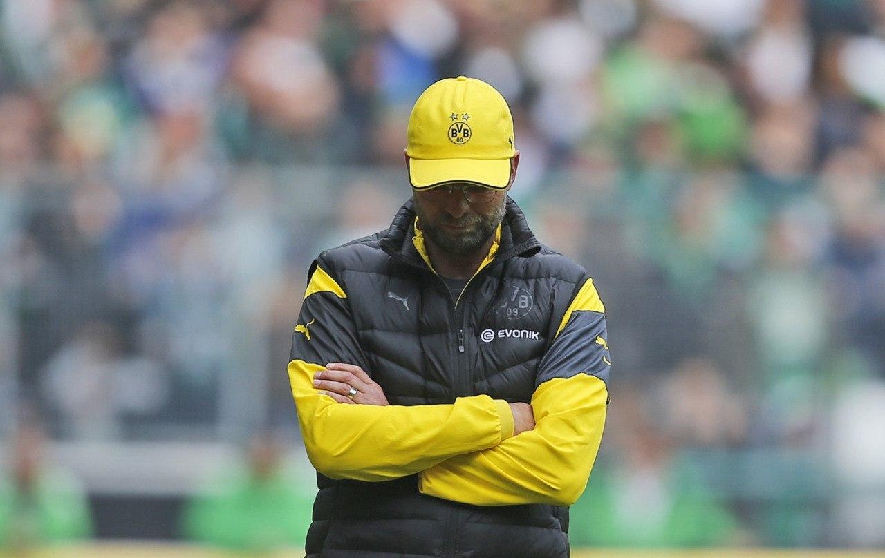 Официально: «Боруссия» Дортмунд подтверждает, что Юрген Клопп покинет клуб по окончанию нынешнего сезона.