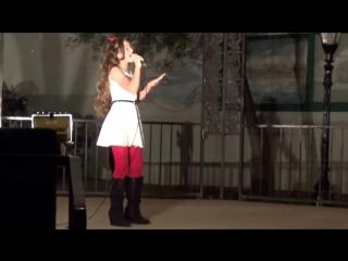 ПОЕТ МАЛЫШКА АННИКА Side To Side - Ariana Grande - Cover Annika Oviedo (10 years old)-kharasach.com