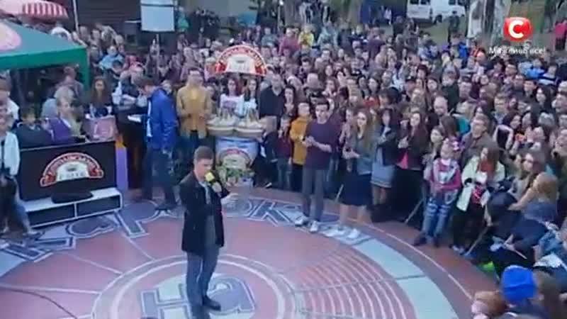 Шоу Караоке на Майдане Сергей Соловьев - Не обіцяй (не обещай) 2018