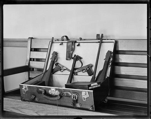 Арсенал киллера времен ганстерских войн в Америке (1930-е годы)