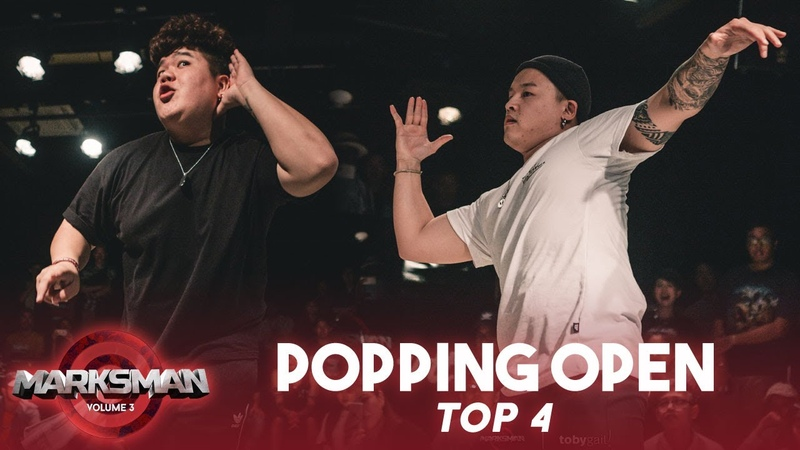 Boogaloo Hanz (MY) vs Da Switch (CN) | Popping Open Category Top4 | Marksman Vol. 3 | RPProds