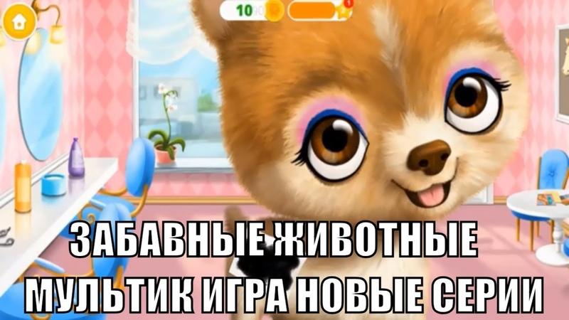 Мультик игра Забавные животные Уход и наряды Hair Salon 2 Парикмахерская для животных