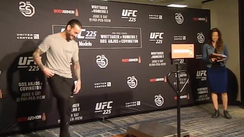 UFC 225 Cm Punk Weigh-in
