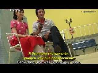 [rus.sub] 2008 Etude House, интервью Чан Гын Сока и Го A-рa.