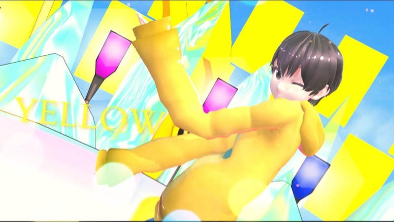 【MMD x OS】YELLOW