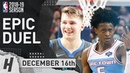 Luka Doncic vs De'Aaron Fox EPIC DUEL Highlights Kings vs Mavericks 2018.12.16 - Both Score 28 Pts!