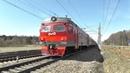 Электропоезд ЭР2Т-7155, электровоз ВЛ11М-223/283А