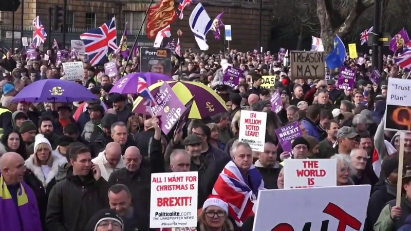 Brexit Betrayal March - Media said 1,500 BUT evidence shows Tens of Thousands!