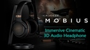 Audeze Mobius - Wireless 3D Audio Headphone | Maximize Your VR Gaming Cinematic Experience
