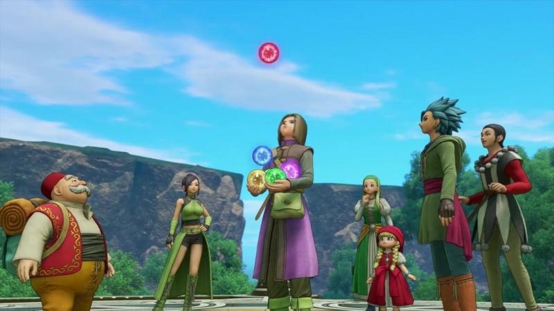 Dragon Quest XI - трейлер европейского релиза и комплекты предзаказа