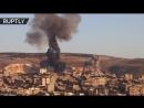 Кадры турецких авиаударов по сирийскому Африну