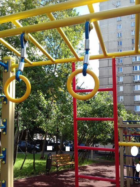 На Башиловской привели в порядок детскую площадку