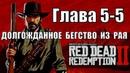 Red dead redemption 2 (PS4) прохождение от первого лица ГЛАВА 5-5 Долгожданное бегство из рая