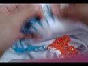 Barrado de pano de prato de crochê 22