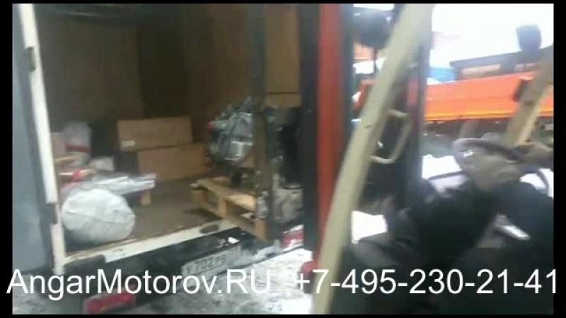Двигатель Шевроле Каптива Опель Антара 2.4 А24ХЕ Отправлен со склада в Москве клиенту в Пермь
